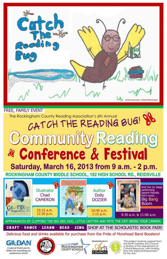 Reading Bug Conference Poster 2013 (Large)